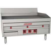 MagiKitch'n MKE-36-E 36 inch Electric Countertop Griddle with Thermostatic Controls - 240V, 1 Phase, 17.1 kW