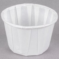 Solo 200-2050 2 oz. White Paper Souffle / Portion Cup - 250/Pack