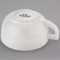 Tuxton BEF-1402 14 oz. Eggshell Jumbo China Cappuccino Cup - 24/Case
