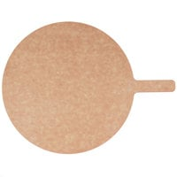 American Metalcraft MP1217 12 inch Round Pressed Natural Pizza Peel with 5 inch Handle