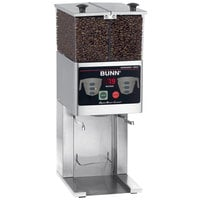 Bunn 36400.0000 FPG-2 DBC French Press Coffee Grinder with 6 lb. Double Hopper - 120V