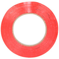 Shurtape General Purpose Red Poly Bag Sealer Tape 3/8 inch x 180 Yards (9mm x 165m)