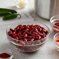Furmano's #10 Can Dark Red Kidney Beans in Brine - 6/Case