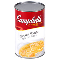 Campbell's 50 oz. Condensed Chicken Noodle Soup - 12/Case