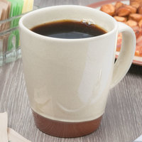 Syracuse China 922222354 Terracotta 14 oz. Pine Tan Mug - 12/Case