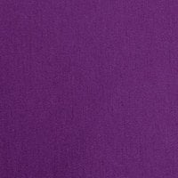 Intedge 64 inch x 110 inch Rectangular Purple Hemmed Polyspun Cloth Table Cover