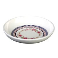 Thunder Group 1003AR Rose 3 oz. Round Melamine Sauce Dish - 60/Case