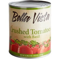 Bella Vista #10 Can Crushed Tomatoes with Basil - 6/Case