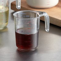 Choice 1 Cup Clear Plastic Measuring Cup