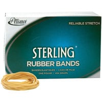 Alliance 24315 Sterling 2 1/2 inch x 1/8 inch #31 Rubber Band, 1 lb. - 1200/Box