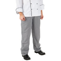 Mercer Culinary Millennia® M60030 Houndstooth Unisex Cook Pants - 7XL