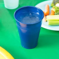 Creative Converting 28113771 12 oz. Navy Blue Plastic Cup - 240/Case
