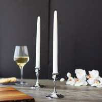 Sterno 40316 12 inch White 12 Hour Taper Candle - 12/Pack