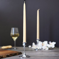 Sterno 40312 12 inch Ivory 12 Hour Taper Candle - 12/Pack