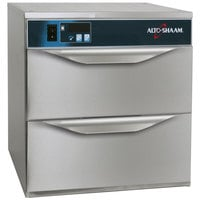 Alto-Shaam 500-2DN Narrow Two Drawer Warmer - 120V