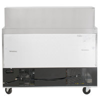Avantco SS-PT-48M-HC 48 inch 2 Door Mega Top Stainless Steel Refrigerated Sandwich Prep Table