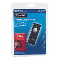 Quartet 84501 Slimline Class 2 Black Laser Pointer with 655 ft. Projection