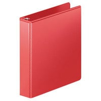 Wilson Jones 385341797PP Heavy-Duty Red View Binder with 1 1/2 inch D-Rings