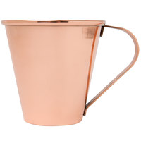 Acopa Alchemy 18 oz. Tapered Copper Moscow Mule Mug - 4/Pack