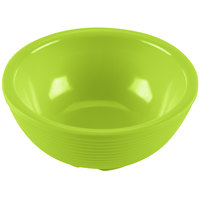 Tablecraft RAM3RGN 3 oz. Green Round Ribbed Melamine Ramekin   - 12/Pack