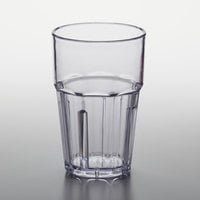 GET 9910-1-CL Bahama 10 oz. Clear Customizable SAN Plastic Tumbler - 72/Case