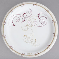 Solo MP9R-J8001 Symphony 8 1/2 inch Medium Weight Paper Plate   - 500/Case