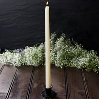 12 inch Ivory 12 Hour Taper Candle   - 12/Pack