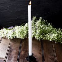 12 inch White 12 Hour Taper Candle   - 144/Case
