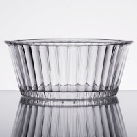 GET ER-404-CL 4 oz. Clear Fluted Plastic Ramekin - 12/Pack
