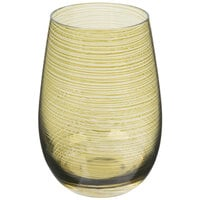 Stolzle S3527612T Twister 16.5 oz. Olive Stemless Wine Glass / Tumbler - 24/Case