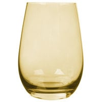 Stolzle S3527312E Elements 16.5 oz. Amber Stemless Wine Glass / Tumbler - 24/Case