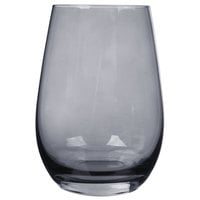Stolzle S3527812E Elements 16.5 oz. Smoky Grey Stemless Wine Glass / Tumbler - 24/Case