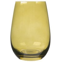 Stolzle S3527612E Elements 16.5 oz. Olive Stemless Wine Glass / Tumbler - 24/Case