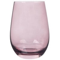 Stolzle S3527712E Elements 16.5 oz. Lilac Stemless Wine Glass / Tumbler - 24/Case