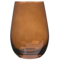 Stolzle S3527512E Elements 16.5 oz. Brown Stemless Wine Glass / Tumbler - 24/Case