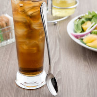 Reed & Barton RB120-021 London 7 3/4 inch 18/10 Stainless Steel Extra Heavy Weight Iced Tea Spoon - 12/Case