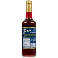 Torani 750 mL Red Raspberry Flavoring Syrup
