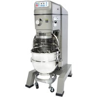 Globe SP62P-4 Gear Driven 60 Qt. Commercial Planetary Floor Mixer with 4 Speeds - 208V, 3 Phase
