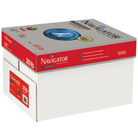 Navigator NPL1720 11 inch x 17 inch White Case of 20# Platinum Paper - 2500 Sheets