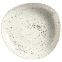 Schonwald 9381322-70255 Pottery 22 oz. Unique White Organic Porcelain Bowl - 6/Case