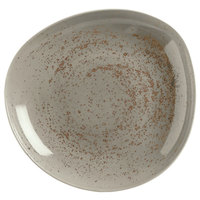 Schonwald 9381322-63043 Pottery 22 oz. Unique Light Gray Organic Porcelain Bowl - 6/Case