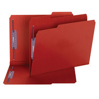 Smead 14936 SafeSHIELD Letter Size Fastener Folder with 2 Fasteners - 25/Box