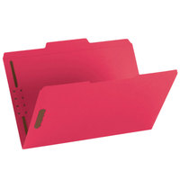 Smead 17740 Legal Size Fastener Folder with 2 Fasteners - 50/Box