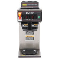 Bunn 12950.0211 CWTF15-2 12 Cup Automatic Coffee Brewer with Upper & Lower Warmers and Hot Water Faucet - 120V