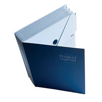 Smead 89200 10-Pocket Expanding File, 1-10 Indexed, Lake/Navy