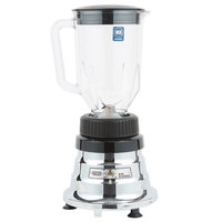 Waring BB160 2 Speed Commercial Bar Blender with Polycarbonate Container - 48 oz.