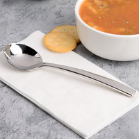 Chef & Sommelier T5409 Kya 7 inch 18/10 Stainless Steel Extra Heavy Weight Soup Spoon by Arc Cardinal - 36/Case