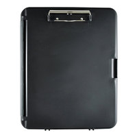 Saunders 00552 WorkMate II 1/2 inch Capacity 12 inch x 8 1/2 inch Black/Charcoal Storage Clipboard