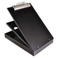 Saunders 21117 Cruiser Mate 1 1/2 inch Capacity 12 inch x 8 1/2 inch Black Aluminum Storage Clipboard