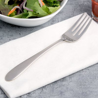 Arcoroc T1729 Hotel 7 inch 18/10 Stainless Steel Extra Heavy Weight Salad Fork by Arc Cardinal - 12/Case